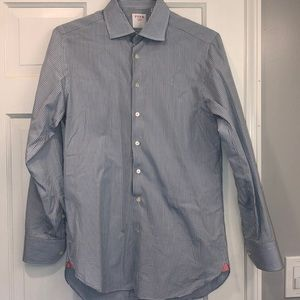 Thomas Pink button up shirt size 15 1/2 / 39 slim